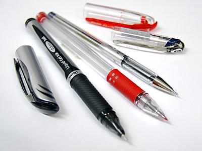 ボールペン3種