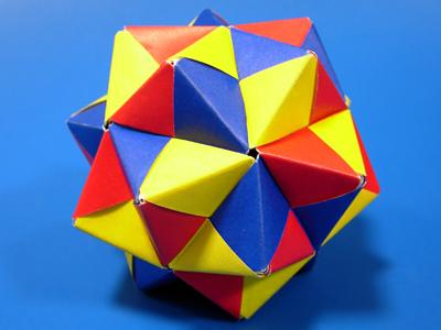 ハート 折り紙 折り紙36面体作り方 : divulgando.net