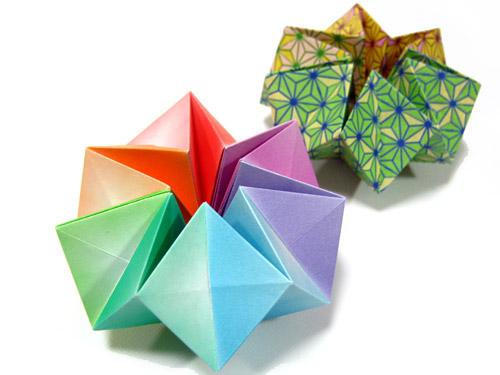 すべての折り紙 折り紙 本 難しい : くるくるとひっくり返って形を ...