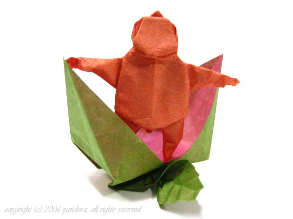 すべての折り紙 桃 折り紙 折り方 : ... 折り紙三昧の日々 折り紙