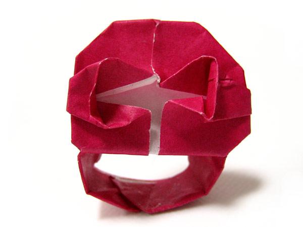 ... ++母と子の折り紙三昧の日々 : ハート 折り紙 立体 : ハート 折り紙