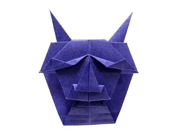 ハート 折り紙:鬼の折り紙-hagifood.com
