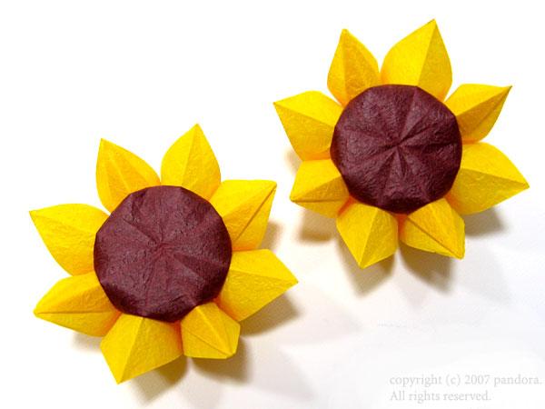 ハート 折り紙 : 折り紙で花の作り方 : divulgando.net