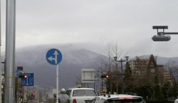 春の雪/灰が峰2