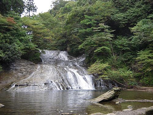 養老渓谷粟又の滝①