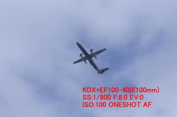AFチェック(KDX+EF100-400)