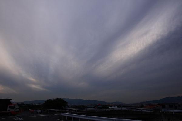 日没頃の空。。。@エアフロントオアシス(by 40D with SIGMA18-50/2.8EX)