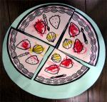 かーくん作成のケーキ