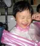 みーママによる散髪1
