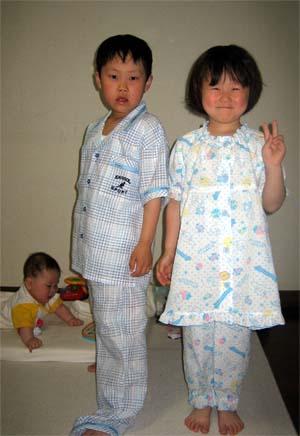 新しい夏のパジャマ