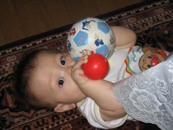 ボール遊びゆーくん