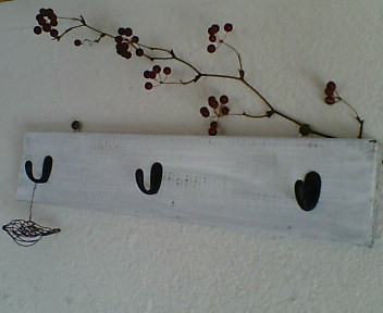 壁掛けフック 3連