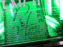 若林さんのサイン色紙