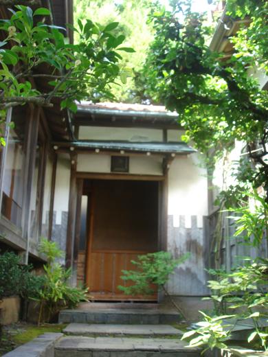 nehangunjo7426 離れへの通路にある出入り口