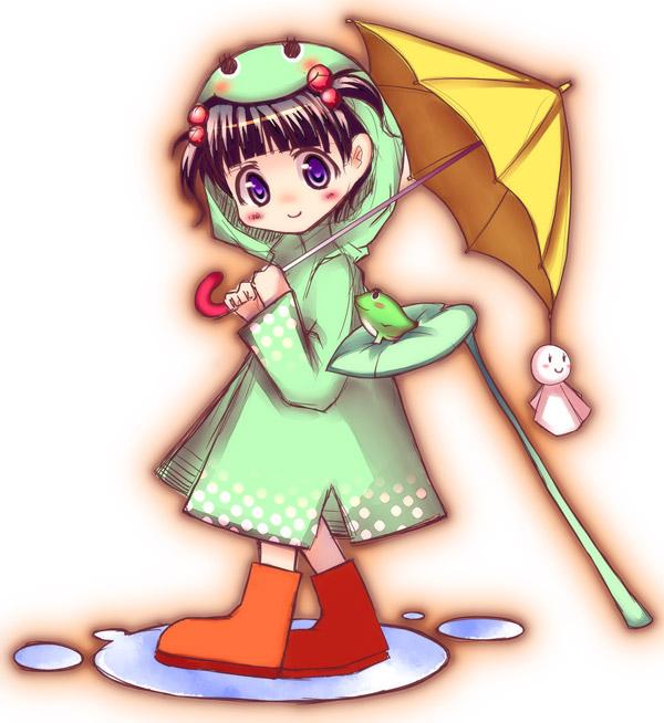 傘が小さすぎた気もします