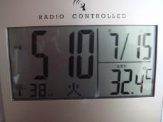 暑いですね8715