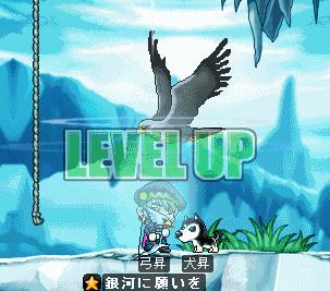 弓昇の久々のLvUP