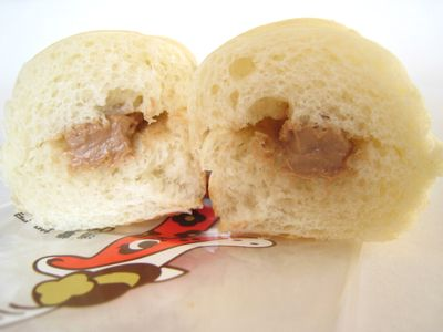 のっぽパン--ベルギーチョコ。