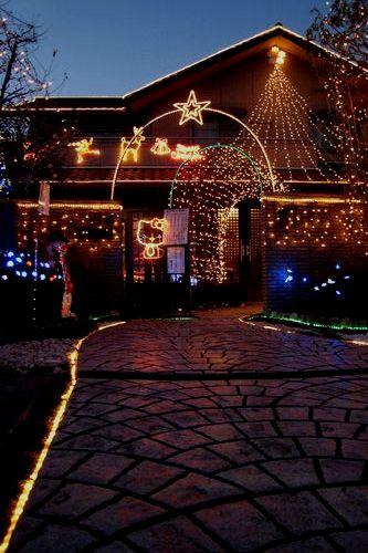 クリスマスイルミネーション。