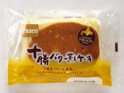 Pasco--十勝バター蒸しケーキ。