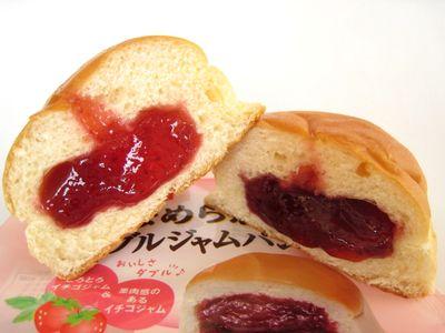 ヤマザキ--なめらかダブルジャムパン。