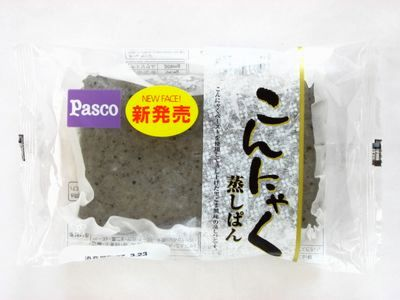 Pasco--こんにゃく蒸しパン。