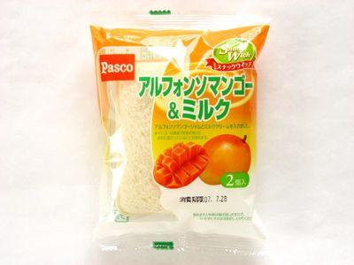 Pasco--スナックウィッチ アルフォンソマンゴー&ミルク。