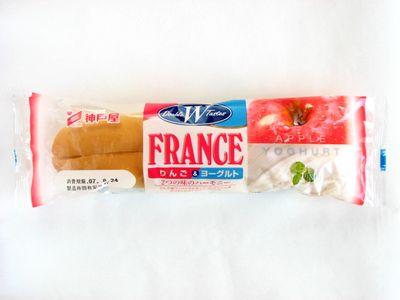 神戸屋--りんご&ヨーグルトフランス。