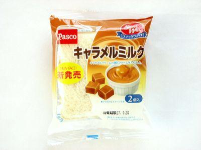 Pasco--スナックウィッチ キャラメルミルク。