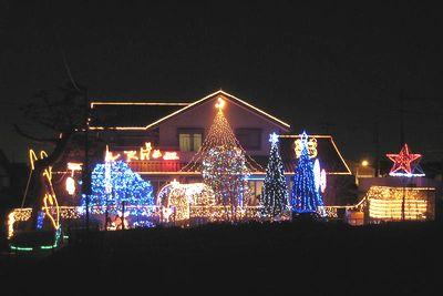 静岡のクリスマスイルミネーション2007。