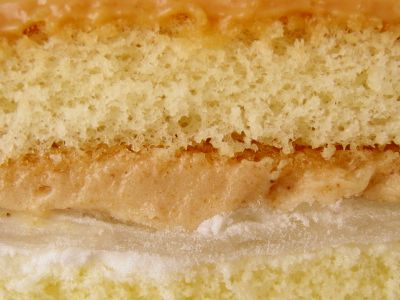 フジパン--きなこもちのケーキ。