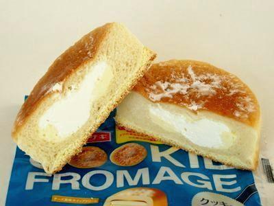 ヤマザキ--クッキーフロマージュ。