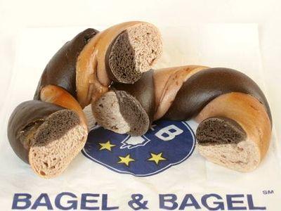 BAGEL&BAGEL--Wベリー&ココア(1周年限定)。