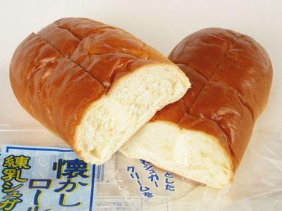 神戸屋--懐かしロール 練乳シュガー。