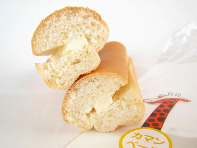 のっぽパン--カマンベール。