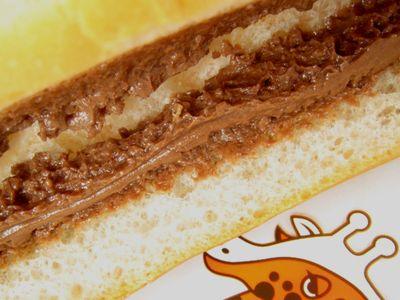 のっぽパン--チョコ。