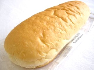 ヤマザキ--コッペパン はちみつ&マーガリン。