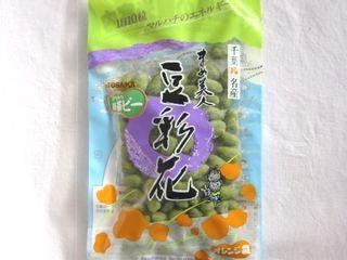 マルハチ--まめ美人 豆彩花 抹茶ピー。