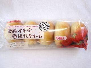 ヤマサキ--女峰イチゴ&練乳クリーム。