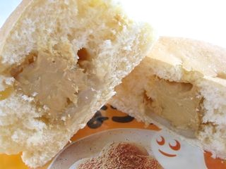 ファミリーマート--チロルチョコパン きなこもち(山崎製パン)。