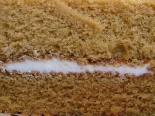 Pasco--黒糖と豆乳のシフォンケーキ。