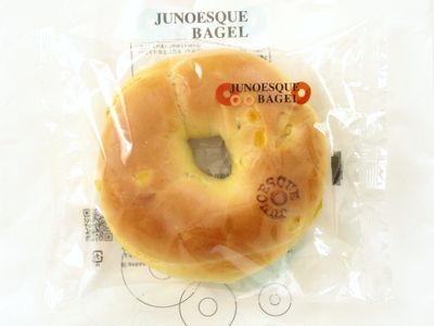 JUNOESQUE BAGEL--マンゴープリンベーグル(7月限定)。