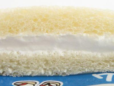 ヤマザキ--ランチパック 牛乳クリーム。