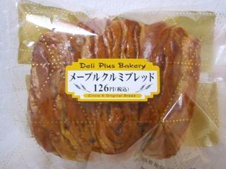 サークルKサンクス--メープルクルミブレッド(DeliPlusBakery・山崎製パン)。