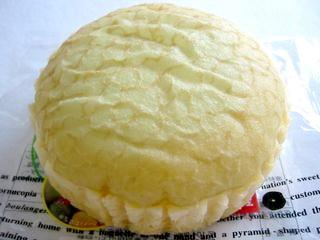 木村屋--メロンむしケーキ。