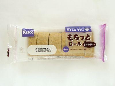Pasco--もちっとロール ミルクティー。