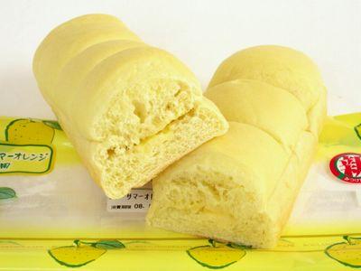 セブンイレブン--ニューサマーオレンジのちぎりパン~焼きたて直送便・プライムベーカリー~。
