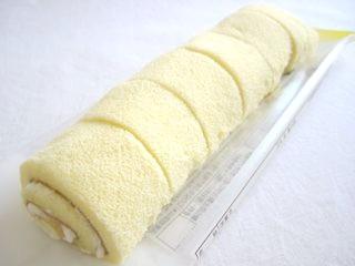 Pasco--もちっとロール バナナ 6個入り。