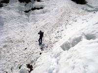 奥白根 雪の斜面