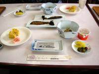 ユースホステル富士屋のユースの朝食